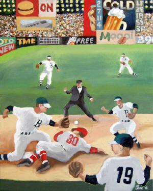 """Louis Grant, """"Rundown,"""" 2010. George Krevsky Gallery/San Francisco"""