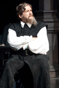 Shylock (Anthony Heald) listens in the court. Photo by Jenny Graham.