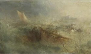 Joseph Mallord William Turner The Storm, ca. 1840–45 Oil on canvas 12 3/4 x 21 1/8 in. National Museum of Wales; Miss Margaret S. Davies Bequest, 1963 (NMWA 509) Courtesy American Federation of Arts