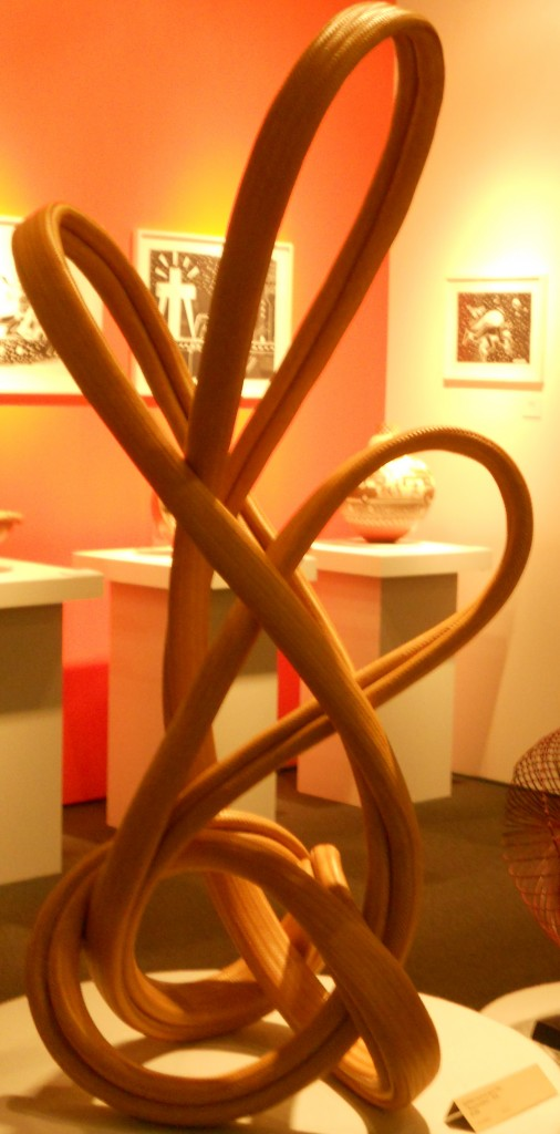"Syoryu Honda, ""Reincarnation,"" 2010, bamboo; TAI Gallery/Santa Fe."