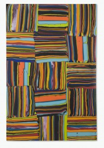 "Klaus Moje, ""Borders 3,"" 2010. Kilnformed glass, 22.75 x 15.25 x 1 inches. Bullseye Gallery, Portland. Photo: R. Little."