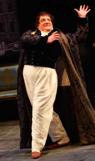 "Simon Russell Beale as Sir Harcourt Courtly in the National Theatre's filmed version of ""London Assurance.""  Photo: Catherine Ashmore"