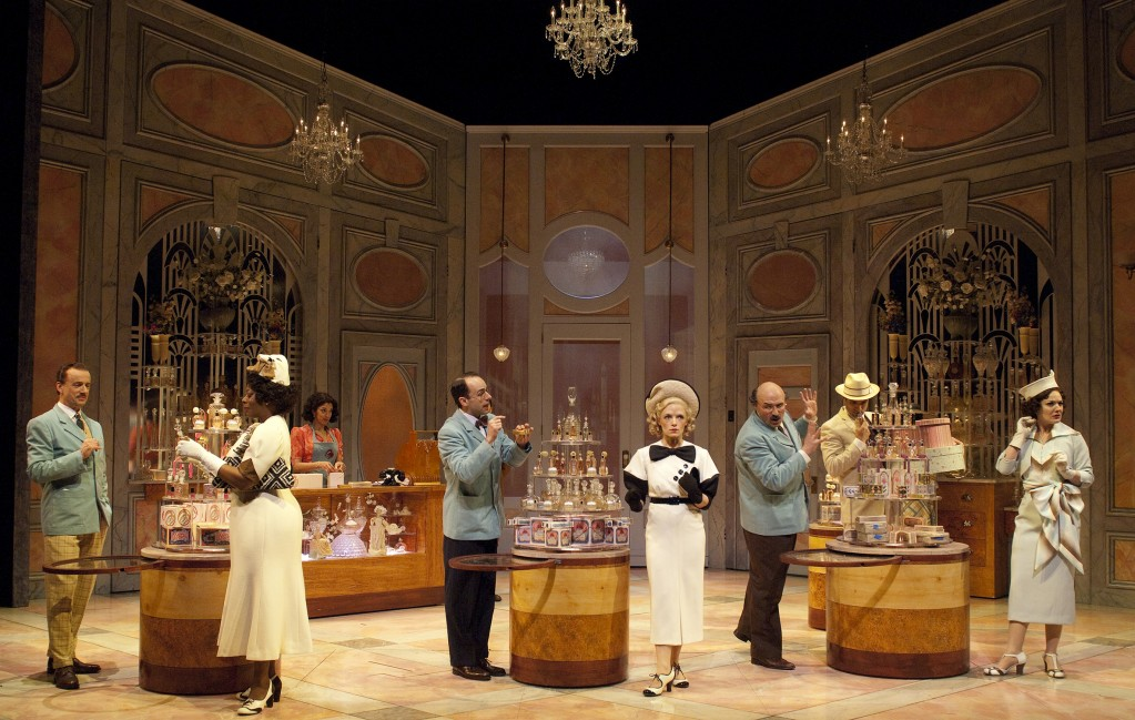 "Cast and set of ""She Loves Me"" at Oregon Shakespeare Festival/Jenny Graham"