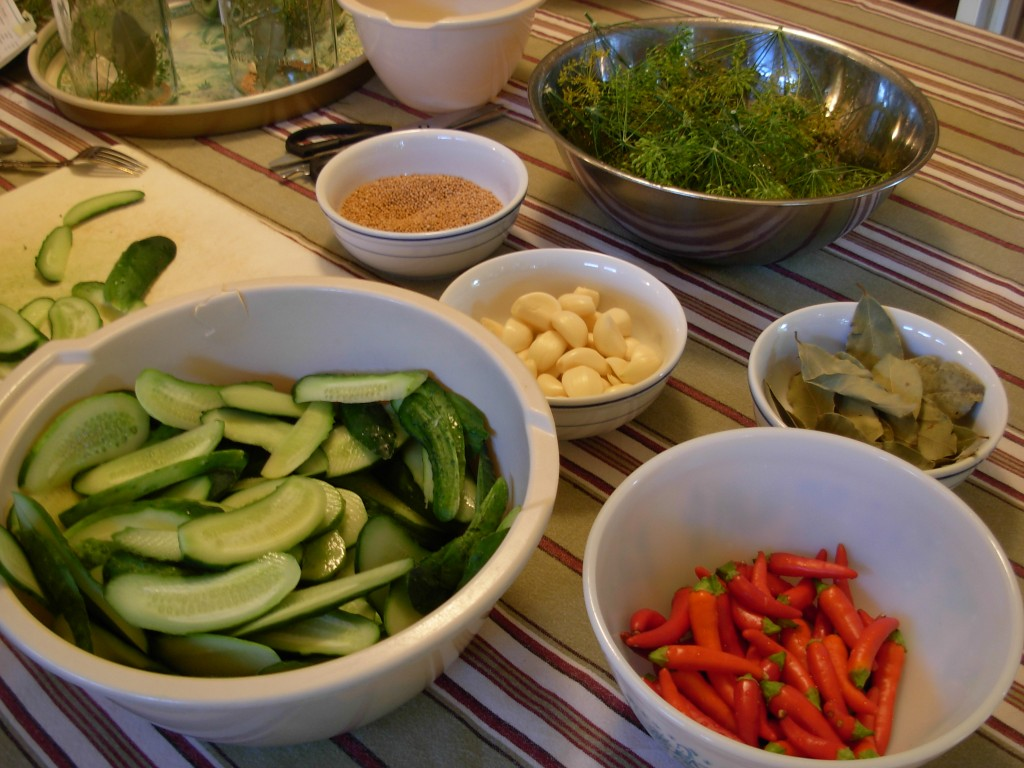 Pickle prep
