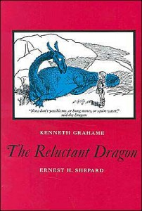 The Reluctant Dragon by Kenneth Grahame, illustrations by Ernest H. Shepard