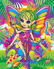Fairy Girl, not exactly what a Large Smelly Boy is looking for