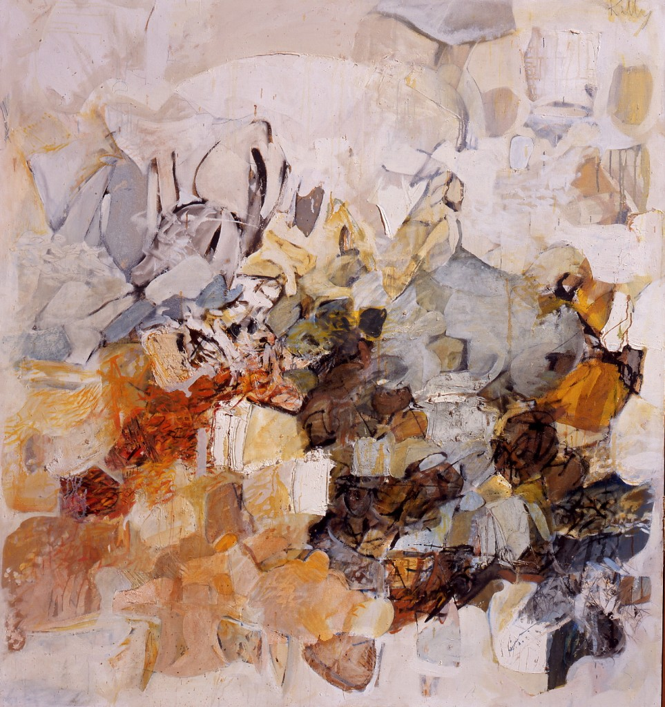 Lee Kelly, A One Pound Canto, 1960, oil on canvas, Portland Art Museum, Gift of Brooks and Dorothy Cofield, © Lee Kelly