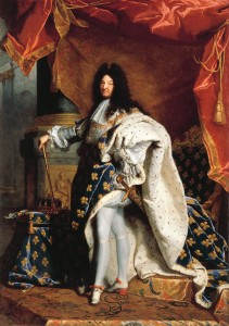 Louis XIV (1638–1715), by Hyacinthe Rigaud (1701). Louvre Museum, Louis XIV Collection/Wikimedia Commons