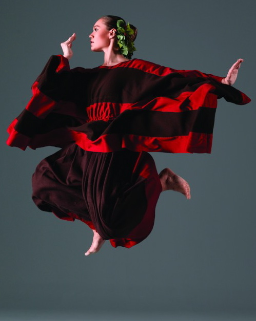 Heidi Stoeckley Nogoy in Martha Graham's Cave of the Heart. Photo: John Deane