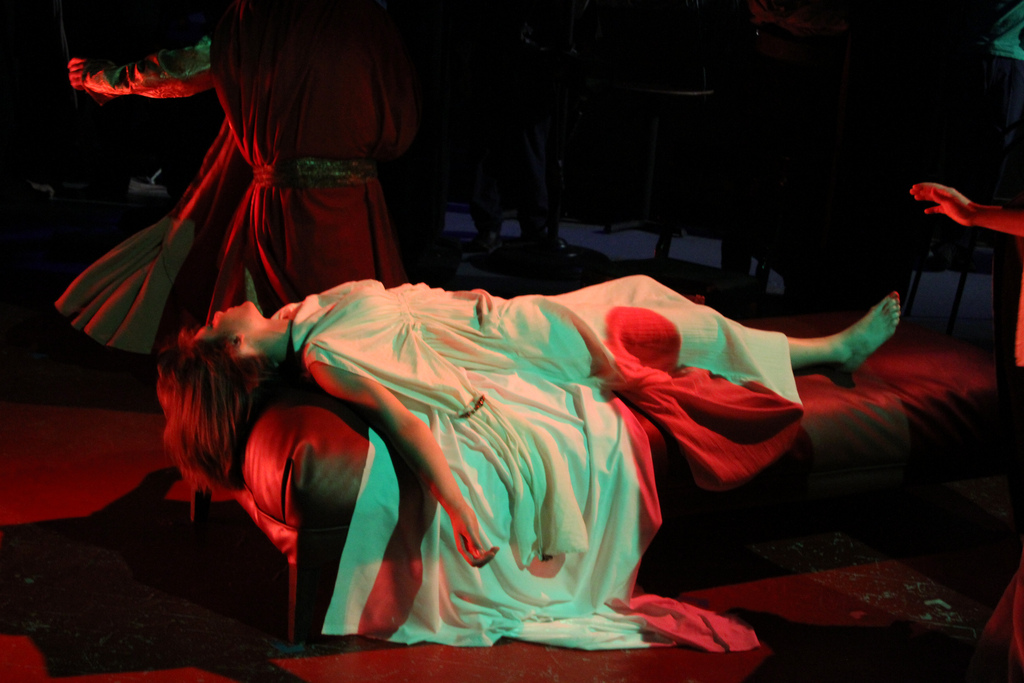 Rachael Parrell: the Desdemona dies twice. Photo: Jerry Mouawad