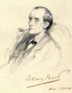 "Sidney Paget (1860-1908): ""Sherlock Holmes,"" 1904. Wikimedia Commons"