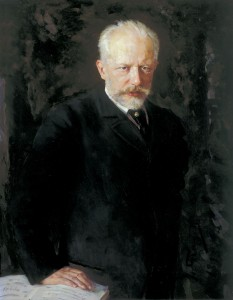 Nikolai Dimitriyevich Kuznetsov, portrait of Tchaikovsky, oil on canvas, 1893. State Tretiakov Gallery, Moscow/Wikimedia Commons.