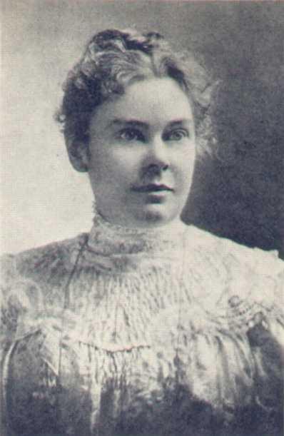Lizzie Borden, ca. 1889. Wikimedia Commons.