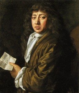 Portrait of Samuel Pepys by J. Hayls. Oil on canvas, 1666, 756 mm × 629 mm National Portrait Gallery, London. Wikimedia Commons.