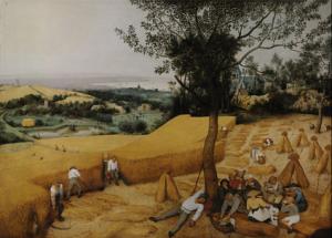 """The Harvesters,"" by Pieter Brueghel the Elder, Metropolitan Museum of Art. Full-frame view on Google Art Project."