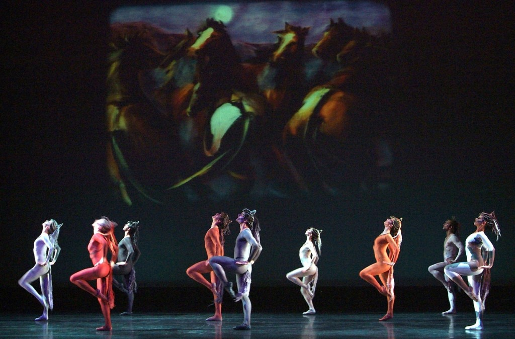 """Red Pony"" at Eugene Ballet. Photo: Cliff Coles."