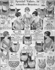 Brassiere advertisement