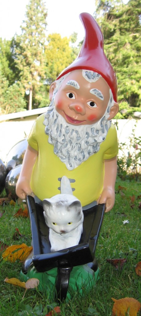 ... and could this become Chez Scatter's new Large Smelly Gnome? Photo: Ioannes.baptista, Wikimedia Commons.