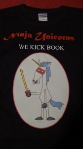 Ninja Unicorns T-shirt, designed by the Small Large Smelly Boy
