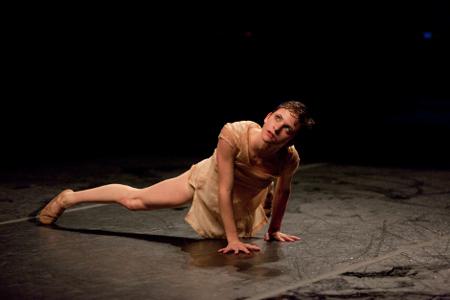 Northwest Dance Project's Andrea Parson. Photo: Blaine Truitt Covert