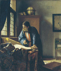 The Geographer, 1669, oil on canvas, The Stadel Museum, Frankfurt, Germany. (Image courtesy of the Stadel Museum.)