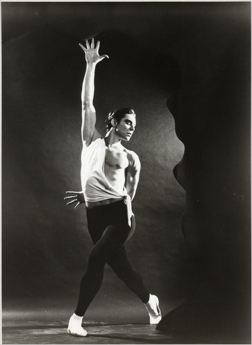"Jacques d'Amboise in ""Apollo."" Courtesy New York City Ballet."