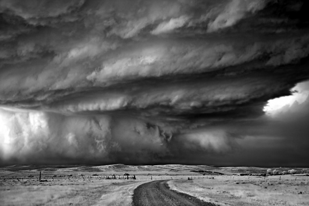 "Mitch Dobrowner, ""Bear's Claw,"" Blue Sky Gallery"