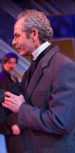 "Michael Mendelson, artistic director of the new Portland Shakespeare Project, as Gayev in ""The Cherry Orchard"" at Artists Repertory Theatre. Photo: OwenCarey/2011."