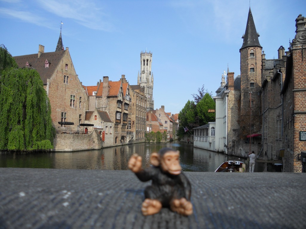 Greetings from Bruges.