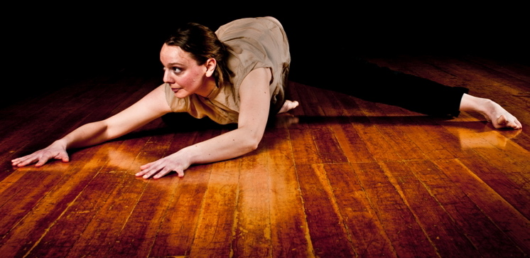 "TopShakeDance's Dana Detweiler in ""Gust."" Photo: Todd Stephen"
