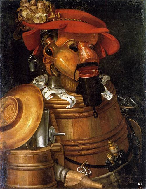 """The Waiter"" by Giuseppe Arcimboldo/Wikimedia Commons"