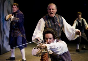 "Jim Caputo in ""The Gohosts of Treasure Island"" at Oregon Children's Theare. Leah Nash/Special to The Oregonian"