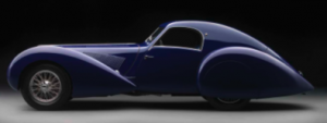 "1937 Talbot-Lago T150-C-SS ""Teardrop"" Coupe  Lent by Arturo and Deborah Keller  Petaluma, California"