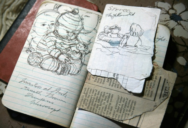 Jack McLarty's notebooks: Pacific Northwest College of Art