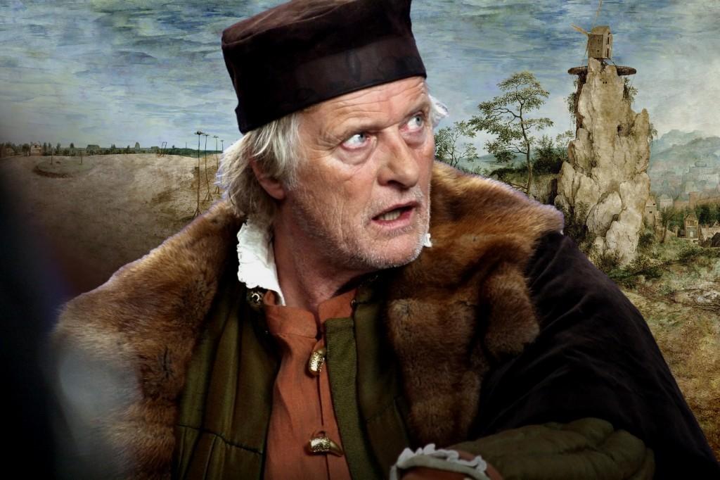 "Rutger Hauer as the artist Pieter Bruegel in ""The Mill & the Cross."" Kino Lorber, Inc."
