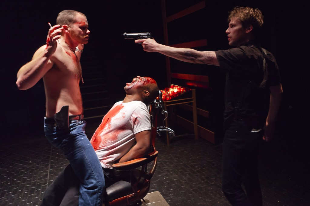 "Jack Street, Vin Shamby and Chris Murray in ""I Am Still) the Duchess of Malfi."" Photo: Owen Carey"