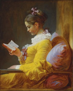 "Jean-Honore Fragonard, ""The Reader,"" ca. 1770-72. National Gallery of Art/Wikimedia Commons"