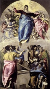 "El Greco, ""The Assumption of the Virgin,"" 1577/Wikimedia Commons"