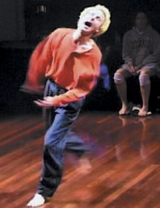 Bob Eisen in performance.