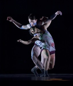 "Ching Ching Wong and Patrick Kilbane in Patrick Delcroix's ""Chameleon."" Photo: Blaine Truitt Covert."