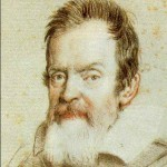 Galileo, drawing by Ottavio Leoni, 1624. Wikimedia Commons.