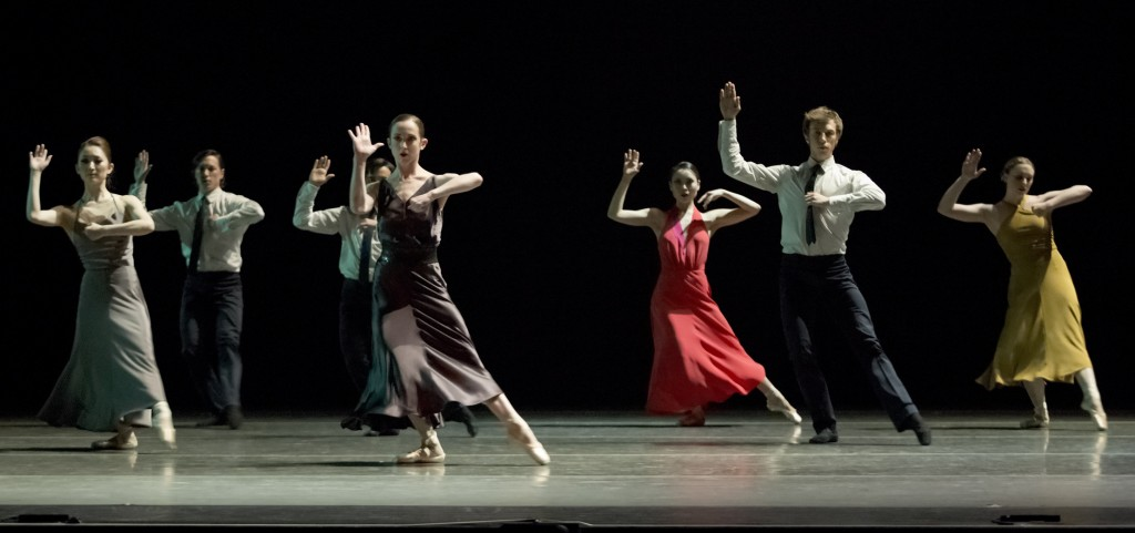 "OBT performs the world premiere of Matyash Mrozewski's ""The Lost Dance."" Photo: Blaine Truitt Covert"