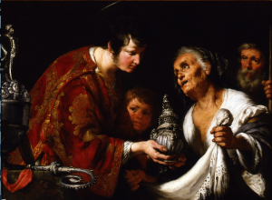 "Bernardo Strozzi, ""St. Lawrence Giving the Treasures of the Church to the Poor,"" 1635/40"