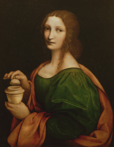 "Giampietrino, ""St. Mary Magdalene,"" tempera on wood, 1521"